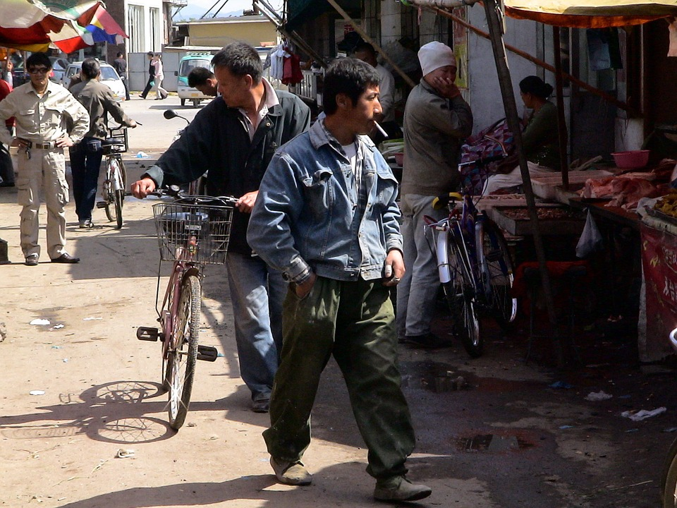 Čína: kouření jako podpora místní ekonomiky